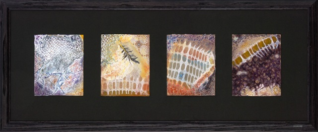 "Purity - 2009 - Mixed Media on paper - 15"" x 36"""