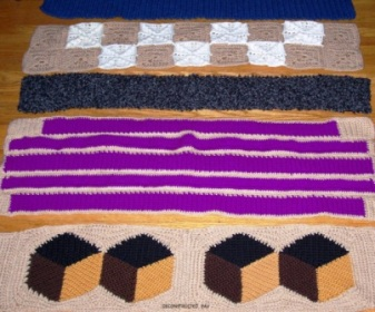 Deconstructed - 2003 - Crocheted acrylic yarn