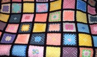 Cozy Light - 2004 - Crocheted acrylic yarn