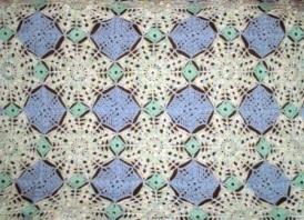 Blue Star - 2013 - Crocheted Acrylic yarn