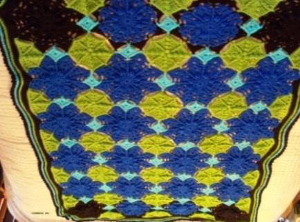 Flowerfall - 2012 - Crocheted Acrylic yarn