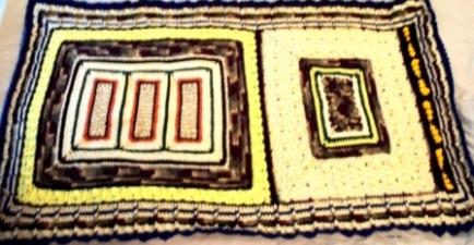 F.Loyd - 2012 - Crocheted Acrylic yarn