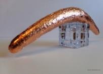 "Common Sense Exposed - 2016 - Copper foil - 12.5"" x 1.5"""