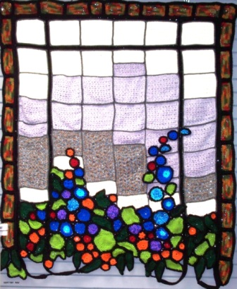 Soft Tiff - 2011 - Crocheted Acrylic yarn - 4ft x 6ft