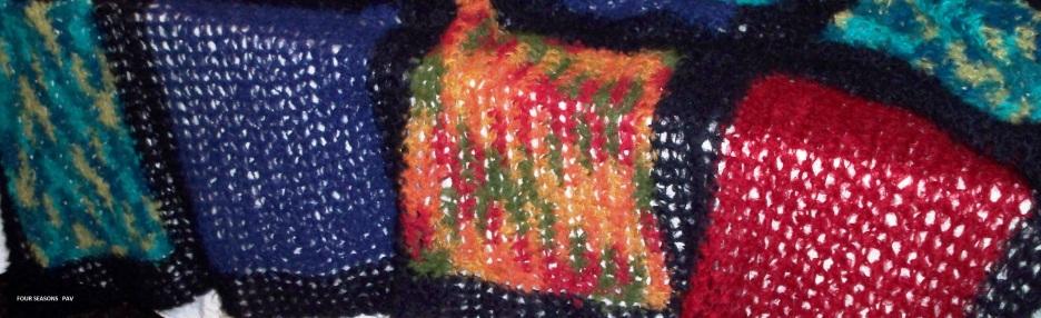 Four Seasons - 2010 - Crocheted Alpaca yarn