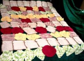 Foodie Dish Cloths - 2010 - Crocheted Cotton yarn