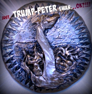 Trump-Peter Swan - 2016 - Polymer clay - 2 3/4""